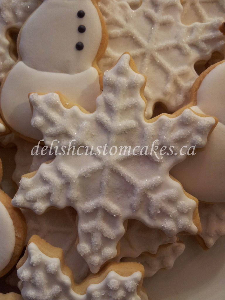 snow sugar cookie